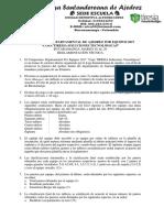 Reglamento Ajedrez Por Equipos Departamental Santander