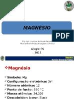 Nutrição Mineral de Plantas - Mg