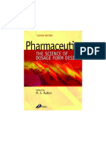 Aulton__PharmaceuticsThe Science of Dosage Form Design 2 Ed