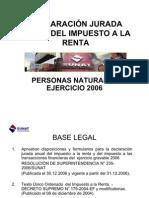 Capacitación interna PPNN Renta Anual 2006_II