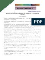 Resolução Conselho Federal de Contabilidade - CFC Nº 1.282 de 28.05.2010 - Aula 4