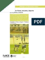 Rivera, E. (2005) Cultura y Fútbol. La Generación de Su Conocimiento Desde La Universidad