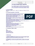 04 Protocolo en Caso de Fuga de Gas o Químicos