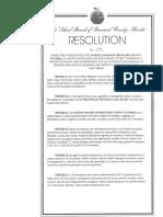 Broward County Resolution