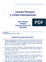 Clase04-Economía Peruana y Crisis Internacional