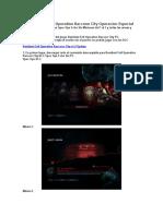DLC Resident Evil Operation Raccoon City Operacion Especial
