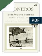 PIONEROS Cuaderno de Histª de La Aviacion Española Num. 26