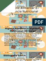 Aula - 1 - Higiene Alimentar e Vigilancia Nutricional