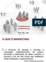 1- o que é marketing