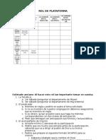 Rol de Plataforma e Indicaciones
