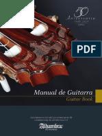 Manual de Guitarra - Guitarras Alhambra