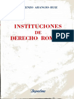 [1986] Instituciones de Derecho Romano