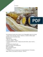 Carne Prensada Con Huevo