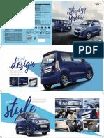 Final WagonR Refresh Brochuer