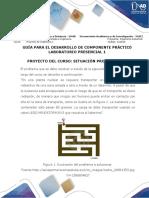 Guía Para El Desarrollo Del Componente Práctico - Laboratorio Presencial 1 - Proyecto de Ingeniería 1