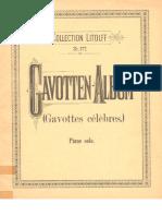 Album - Gavotas Celebres