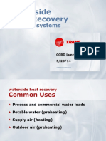 Waterside Heat Recovery - Lunch & Learn 5-28-14