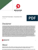Breaking Data Corp Investor_presentation November 2015