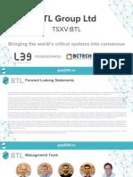 BTL Investor Presentation 2017