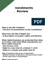 amendments review