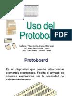 Uso Del Protoboard