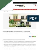 10Marzo2017 Anuncia Peña Beneficios Para Trabajadores en El Sector Vivienda