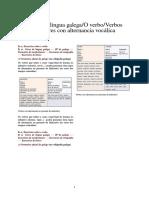 Curso de Lingua Galega2FO Verbo2FVerbos Regulares Con Alternancia Vocálica
