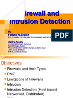 Firewall and Intrusion Detection