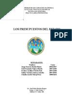 Trabajo Presupuestos Del Estado