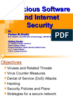 Malicious Software and Internet Security