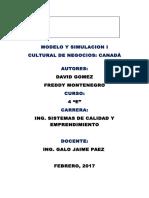Cultural y de Negocios Canada