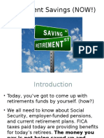 Finance 218 Video Retirement Savings (NOW!) PPT.ppt