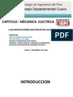Instalaciones Eléctricas en Edificaciones