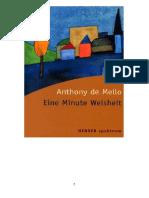 de Mello, Anthony - Eine Minute Weisheit.pdf