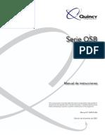 QSB Serie Compresor - Manual - Quincy