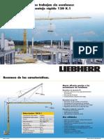 Grúa Torre Liebherr 120k-1