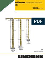 Grúa Torre Liebherr 130EC-B6 (t)