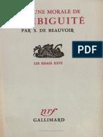 BEAUVOIR. Pour une morale de l'ambiguité (extrait).pdf