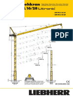 Grúa Torre Liebherr 280HC-L16 28 (t)