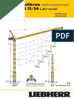 Grúa Torre Liebherr 357HC-L 12-24 (t)