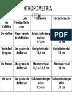 Antropometria Fetal