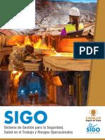 Sistema de Gestión Para La SST y Riesgos Operacionales (SIGO)