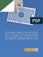 Guia para el manejo de autoclave , central de esterilización.