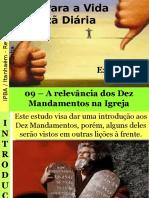 09 - A Relevância Dos Dez Mandamentos Na Igreja