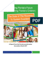 Florida Juvenile Justice Association - The State of the Roadmap to System Excellence March 2017