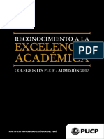 Colegios ITS PUCP 2017 Excelencia Académica