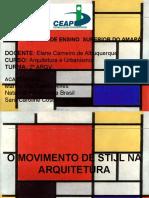 o Movimento de Stijl Na Arquitetura (Neoplasticismo Ou Elementarismo)