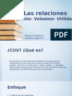 Relaciones CVU