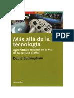 Buckingham David Mas Alla de La Tecnologia Cap1