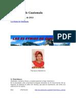 Las Etnias de Guatemala